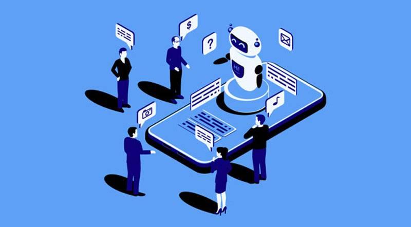 ربات خدمات به مشتریان